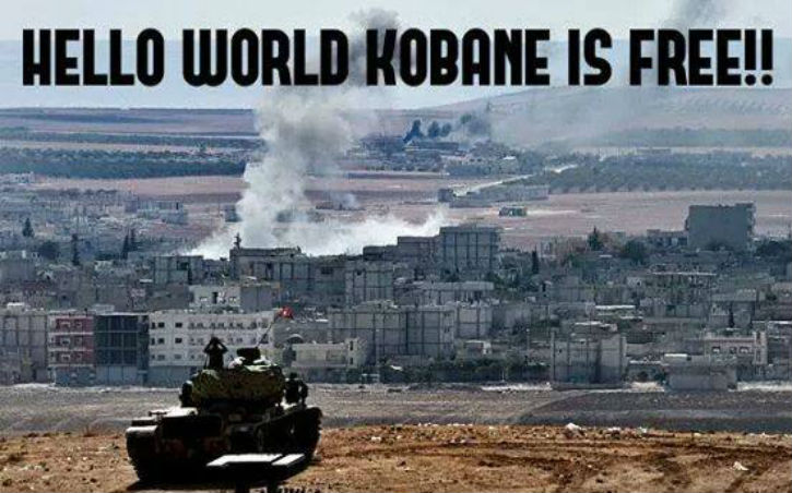 Syrie : Les jihadistes de l'Etat Islamique chassés par les Kurdes de la ville de Kobané