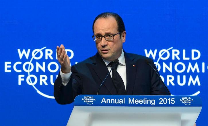 Davos: François Hollande appelle à stopper le financement du terrorisme. Commençons par geler les avoirs du Qatar !