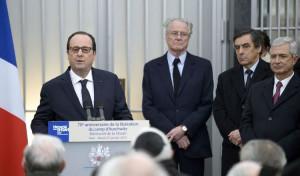 François Hollande Mémorial de la Shoah