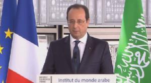 François Hollande institut du Monde Arabe