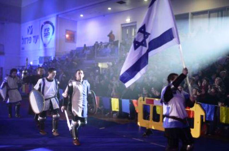 Des combats médiévaux à Rishon LeTzion