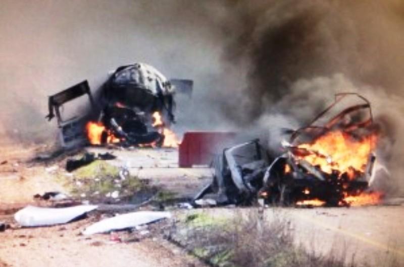 IDF-Hezbollah-rocket-attack.-Photo-Ch.2-screenshot.