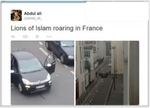 Islamiste se réjouissent de attentat Charlie Hebdo