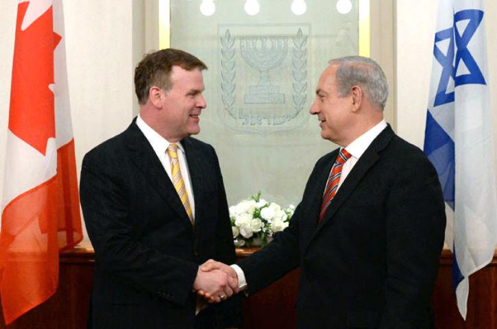 Benjamin Netanyahu: « Israël est engagé avec le Canada dans la lutte contre le terrorisme. »