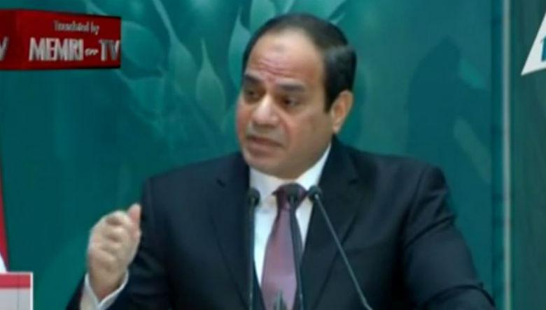 Le président égyptien Abdel Fattah al-Sissi, appelle les Palestiniens et les Israéliens à s'unir dans la paix et la sécurité