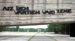 Lettonie camp de concentration nazi de Salaspils