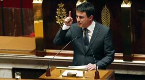 Manuel Valls assemblé nationale Dieudonné