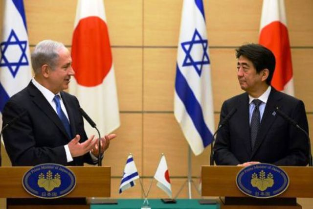 Netanyahu-and-Shinzo-Aba-Japan
