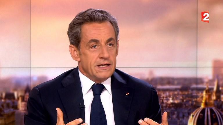 Nicolas Sarkozy France 2 le 21 janvier 2015