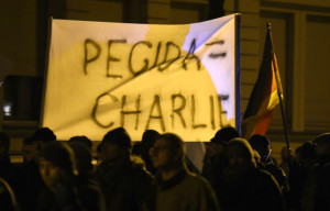 PEGIDA Charlie hebdo Leipzig