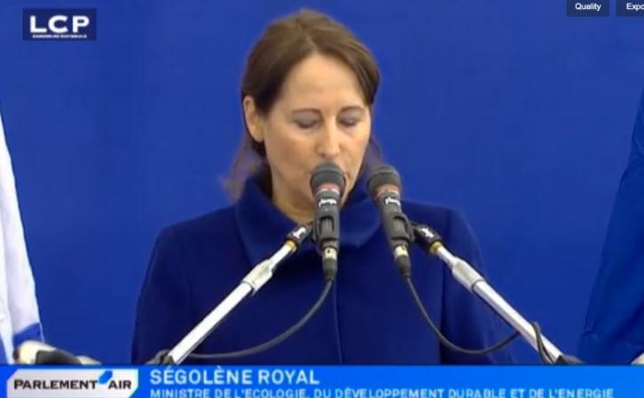 [VIDÉO] Ségolène Royal à Jérusalem pour l'enterrement des 4 victimes juives : » La France sans les Juifs de France n'est pas la France»