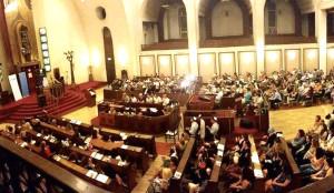 Shabbat synagogue