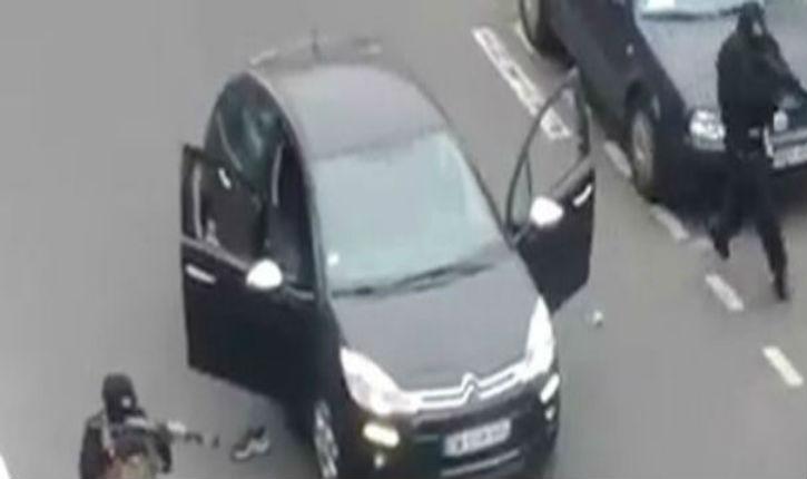 Vidéo de attentat Charlie Hebdo