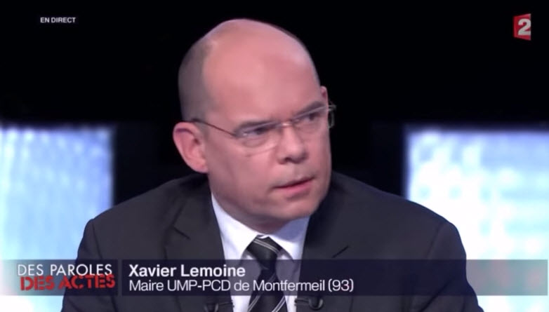[Vidéo] Xavier Lemoine, maire de Montfermeil (93), «Derrière le «pas d'amalgame» on s'empêche d'analyser la réalité du terrain»