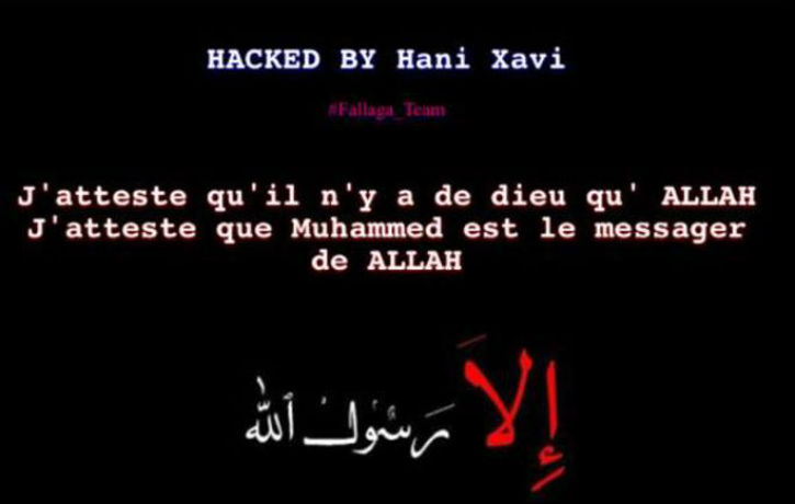 Exclusif: Plusieurs sites internet de lycée de l'Académie de Créteil ont été hackés par des islamistes. Des élèves musulmans refusent de faire la minute de silence.
