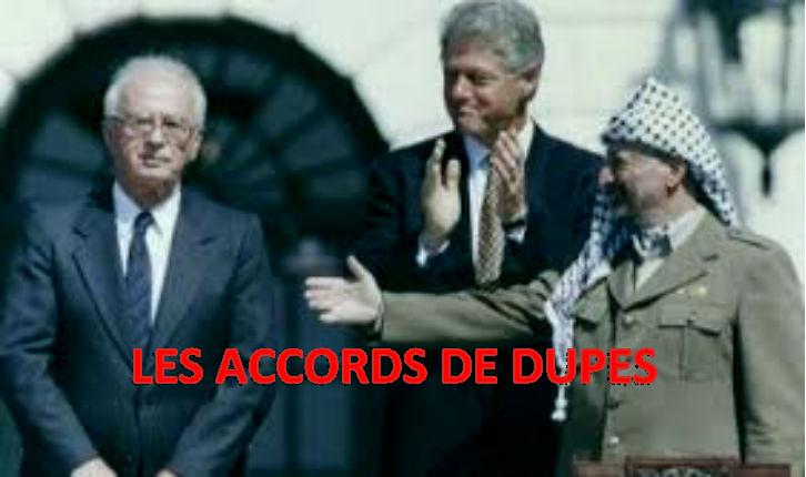 Dix points concernant la violation fondamentale des « Accords d'Oslo » par les arabes-palestiniens