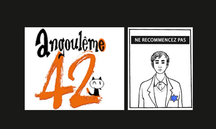Angoulême: un mois après Charlie Hebdo des dessinateurs font la promotion de l'antisémitisme.