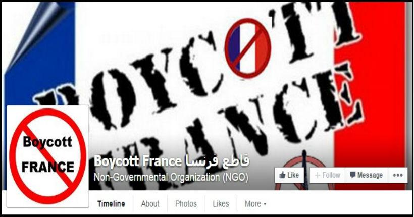 appels au boycott de la France