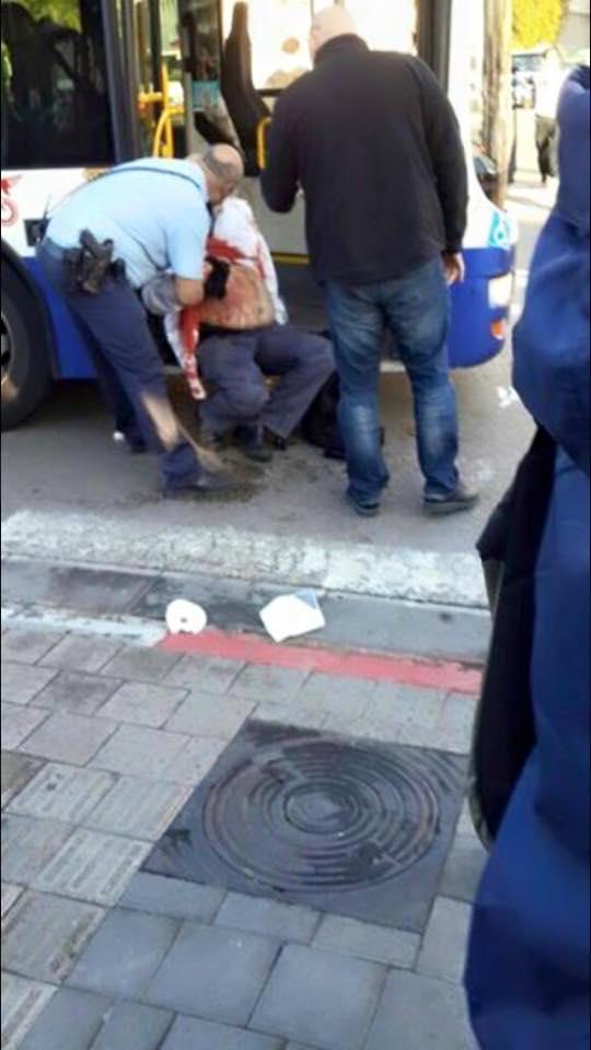blessé attentat au couteau tele aviv