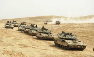 chars Tsahal Liban Syrie