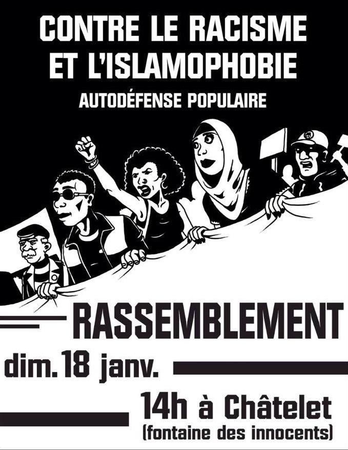 contre islamophobie et racisme
