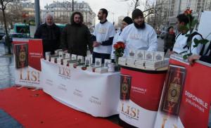 distribution de Coran à Paris 1