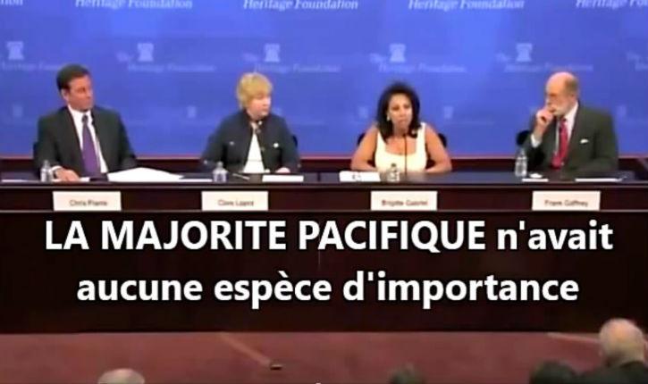 [Vidéo] Une femme courageuse : «la majorité pacifique des musulmans n'a aucune importance»