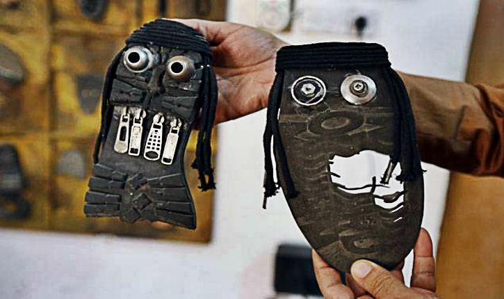« Casser l'image » des jihadistes avec des… chaussures