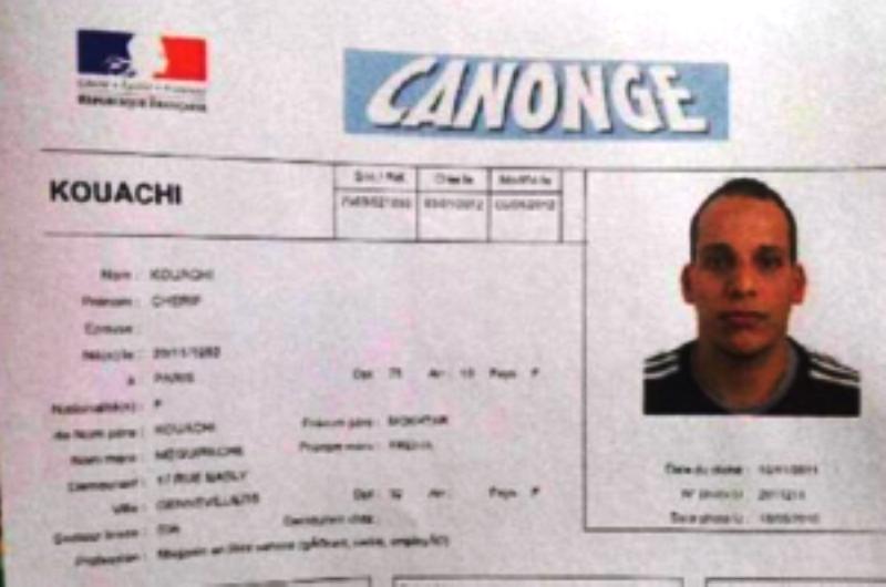 L'identité des terroristes islamistes de l'attaque contre Charlie Hebdo a été révélée