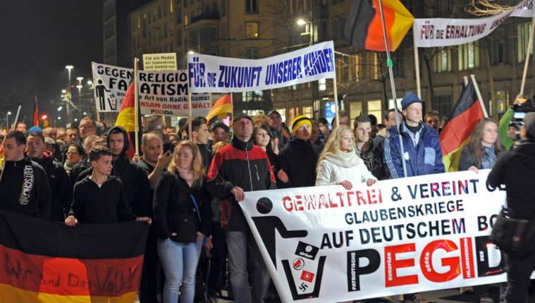 Allemagne, la radicalisation des anti-islam de Pegida