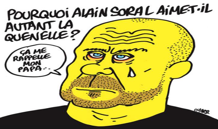 [Vidéo] Alain Soral : « Charlie Hebdo c'est de la merde, qu'il crève ! »