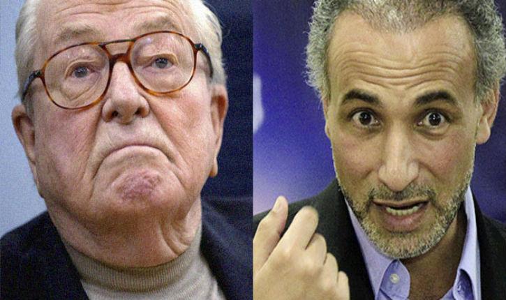 Complotisme : Tariq Ramadan et Jean-Marie Le Pen sur la même longueur d'onde