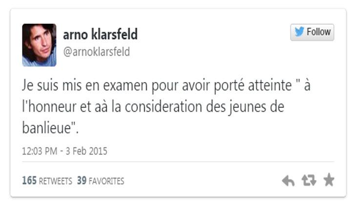 Arno Klarsfled mis en examen
