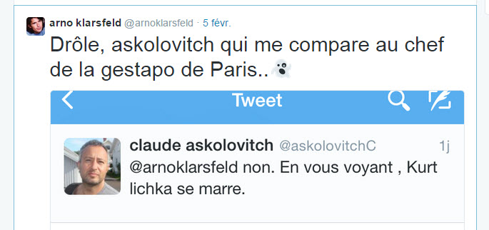 Askolovitch Klarsfeld