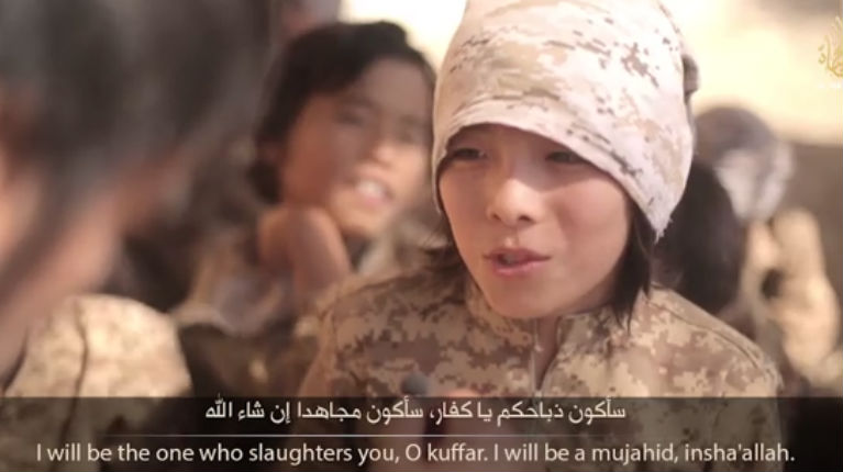 Daesh exécution de deux Russes par un enfant