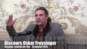 Discours Oskar Freysinger - Savatan
