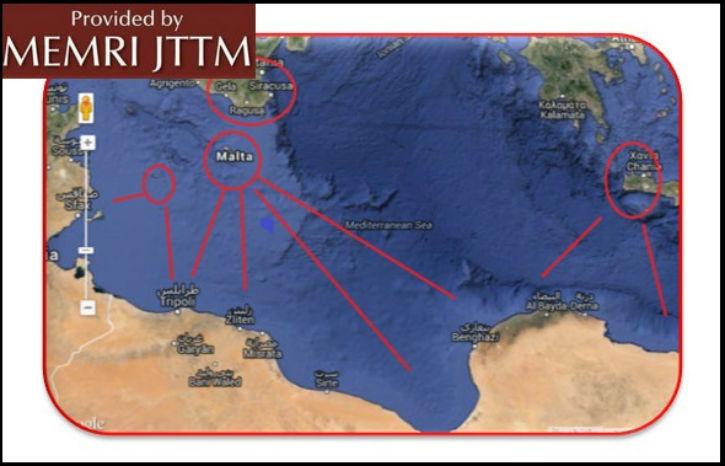 L'Etat islamique projette d'envahir l'Europe par la Libye