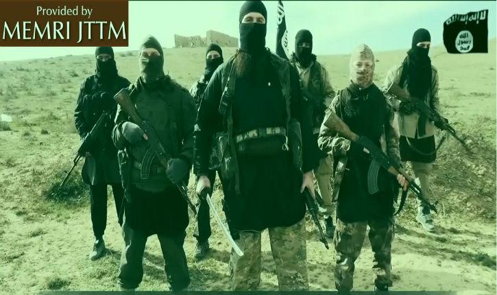 Une nouvelle vidéo en français de « l'Etat islamique » menace le Président Hollande et les imams Chalghoumi et Boubakeur