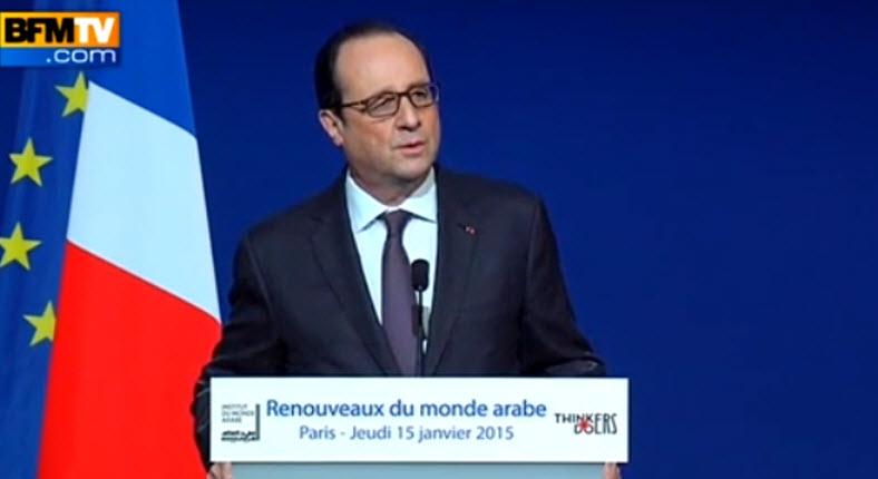 [Vidéo] François Hollande ment «Les musulmans sont les premières victimes du fanatisme sur la planète». Faux, ce sont les chrétiens !