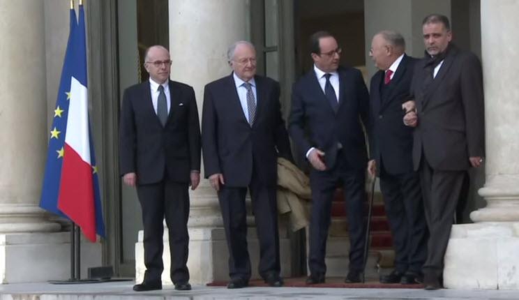 [Vidéo] Religions: Cukierman et Boubakeur reçus à l'Elysée. Exit l'antisémitisme musulman, place au «vivre ensemble»…