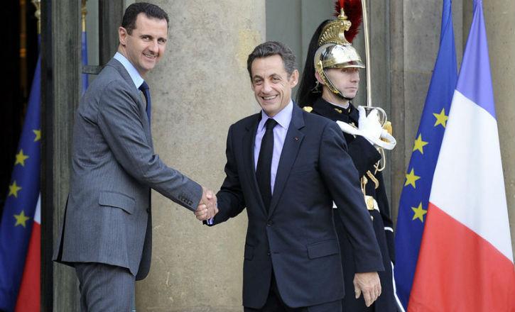 [Vidéos] Syrie : Les 4 «gugusses» parlementaires, selon Nicolas Sarkozy, sont rentrés de Syrie… Retour sur une «amitié» génante