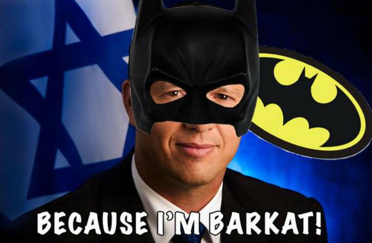 Le maire de Jérusalem, Nir Barkat, ce nouveau héros du web