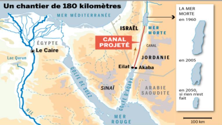 Accord entre Israël et la Jordanie pour lutter contre la pénurie d'eau