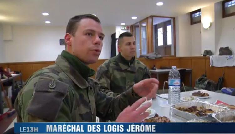 [Vidéo] Vigipirate, soldats devant leurs bâtiments : élan de solidarité de la communauté juive pour les nourrir et de les loger