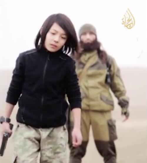 enfant kazakh Etat islamique