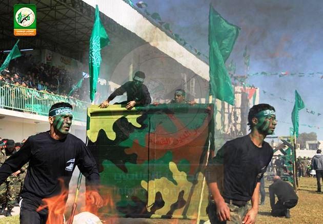 Entraînement des enfants par le Hamas (Photo: @qassam_arabic1/ Twitter/Hamas)