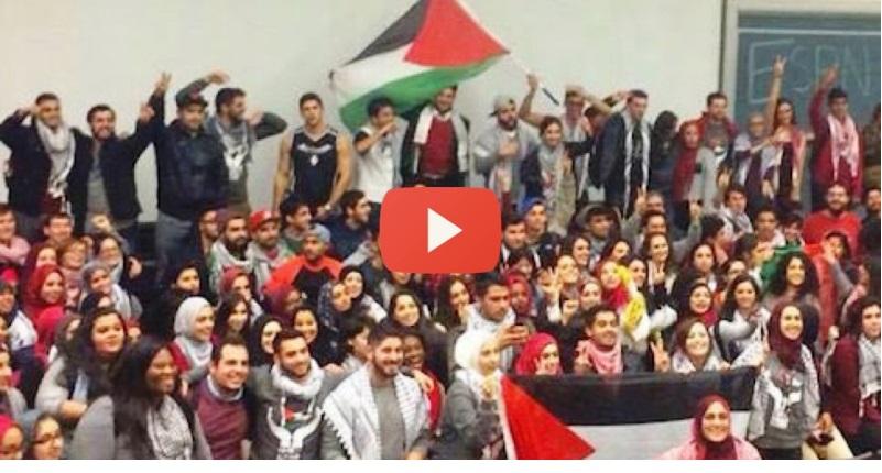 [Vidéos] – Allahu Akbar: Le Hamas «à la conquête de l'Université de Californie»