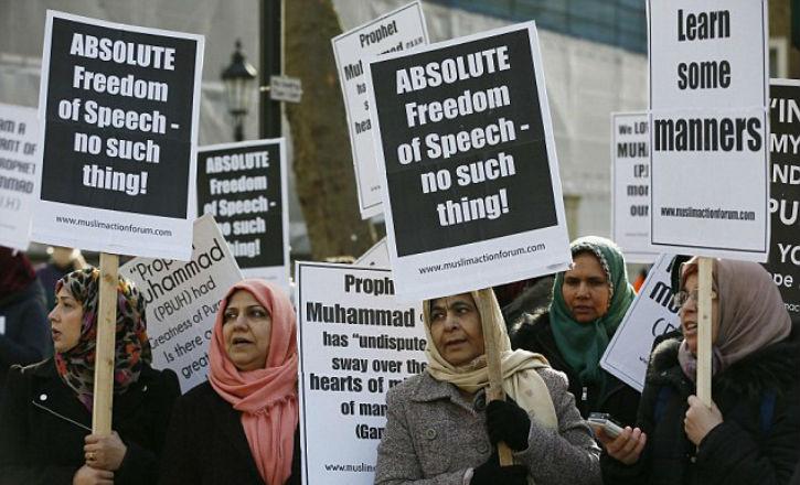 musulmans extrêmistes à Londres