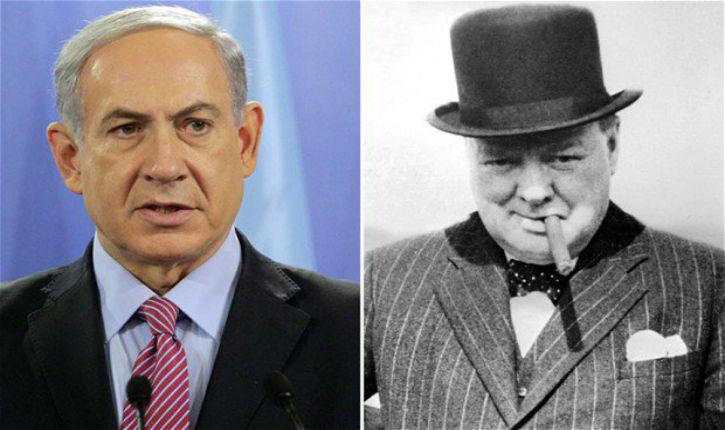 Binyamin Netanyahou, Winston Churchill de notre époque