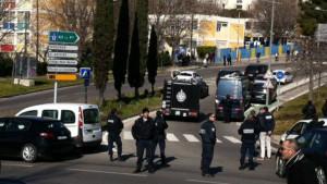 policiers pris pour cible à Marseille